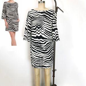 Trina Turk Zebra Print Dresssize 2